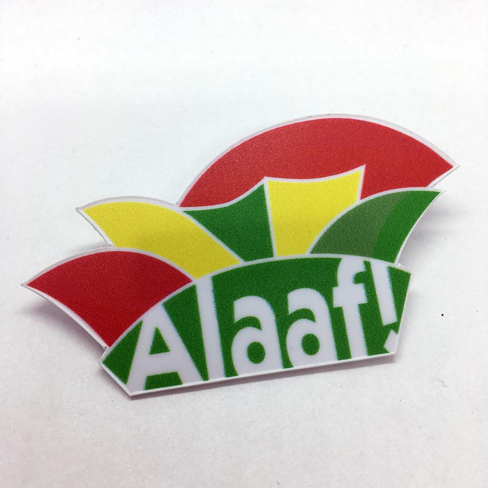 Speltpin plastic Alaaf